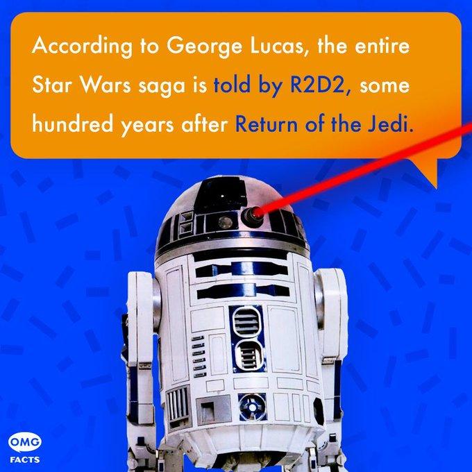 @OMGFacts: We always knew R2 was the @StarWars MVP. #DidYouKnow #TheMoreYouKnow https://t.co/U0Cw98afRD