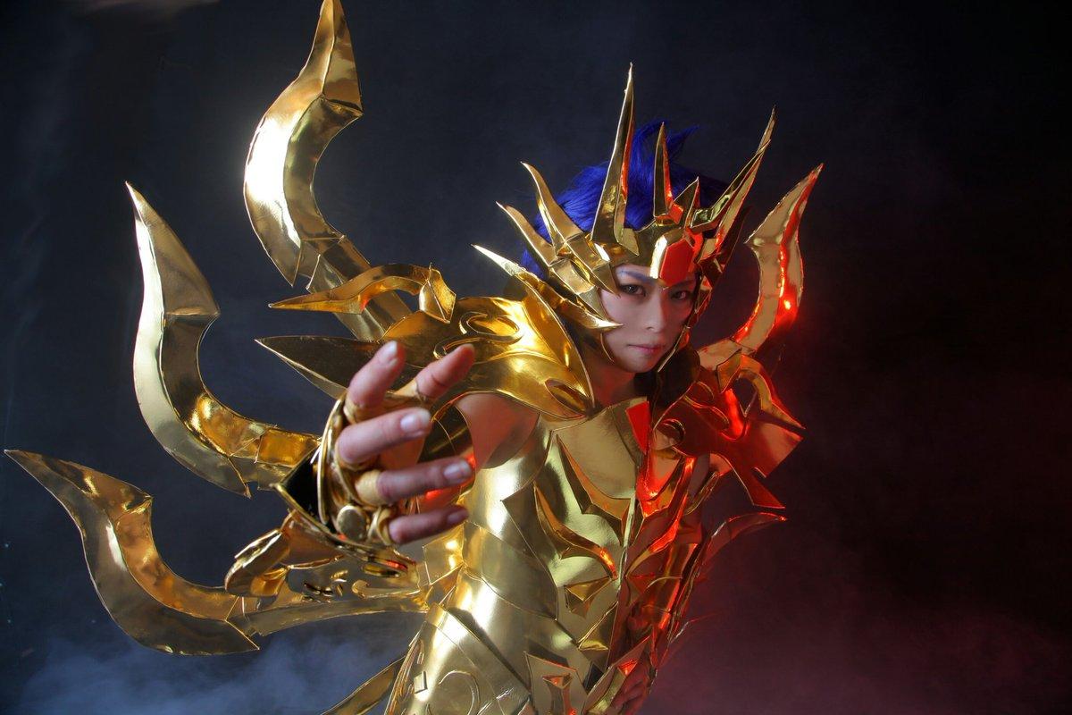 聖闘士星矢 黄金魂-soul of gold-神聖衣蟹座 デスマスク撮影・スタジオベルスタジオ様()