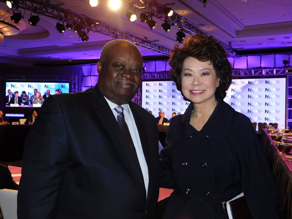 Governor Mapp and US Secretary of Transportation Elaine Chao met in Washington, D.C. this weekend. https://t.co/ex3mJ9tSl7