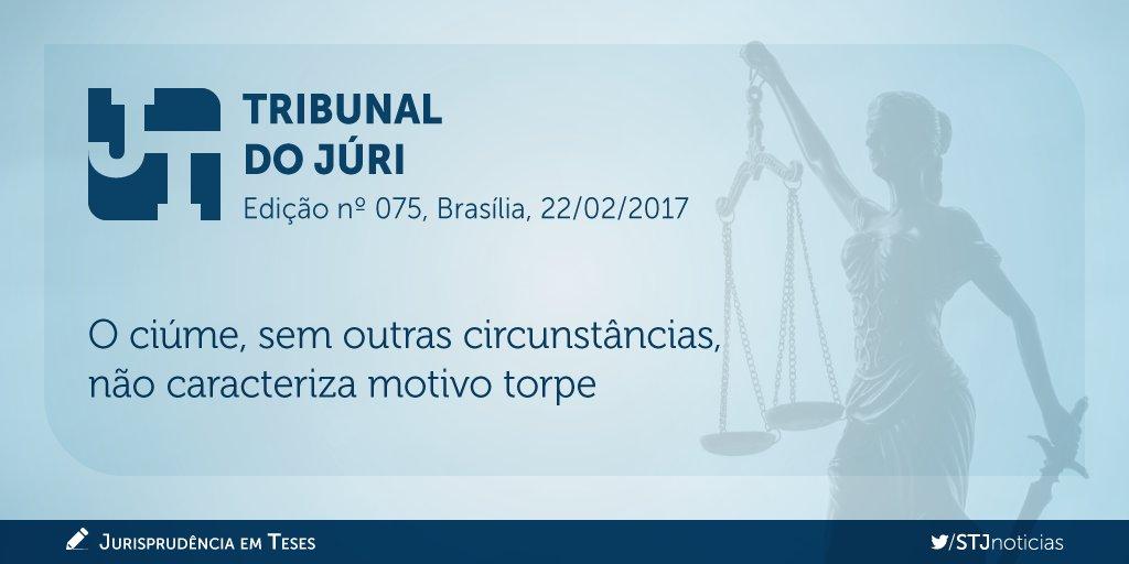 Acesse a nova edição do #JurisprudênciaEmTeses, com teses sobre o tema tribunal do júri.