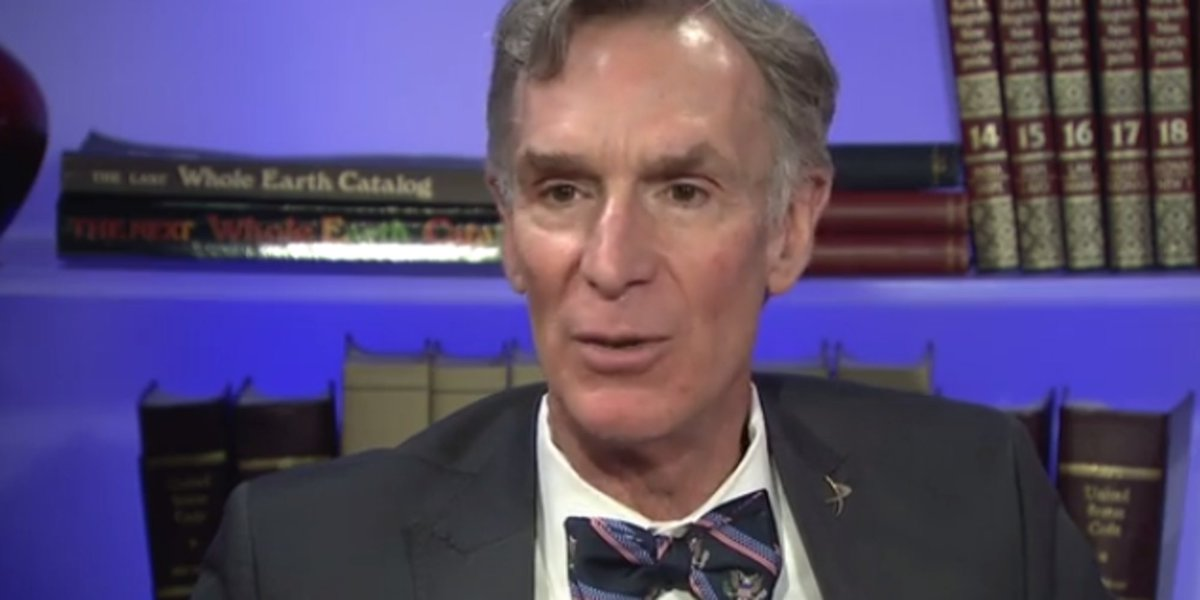 "Bill Nye warns Trump administration could have ""catastrophic"" effect on the planet"