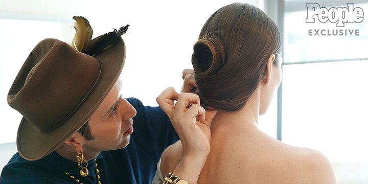 An exclusive look at how Jessica Biel got her awesome Oscars hair via @peoplestyle