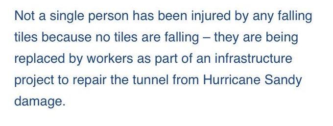 @DavidShepardson: RT @vinbarone: On Trump's Queens Midtown Tunnel musings, from an MTA spokeswoman: https://t.co/Yey8T3NMZm