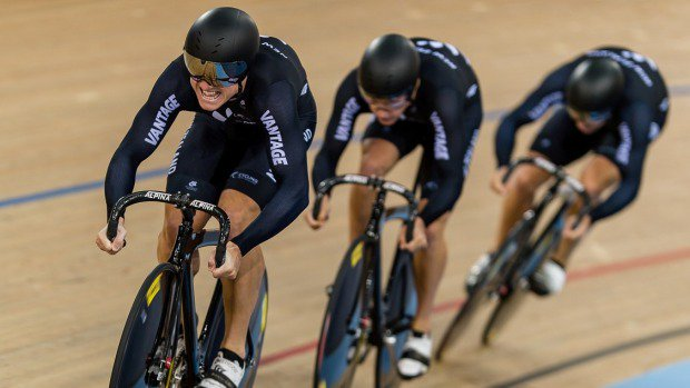 New Zealand men's sprint team overcome Germany in gold medal ride