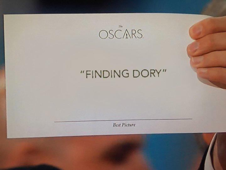 Are we entirely sure about the Best Picture winner? #Oscars