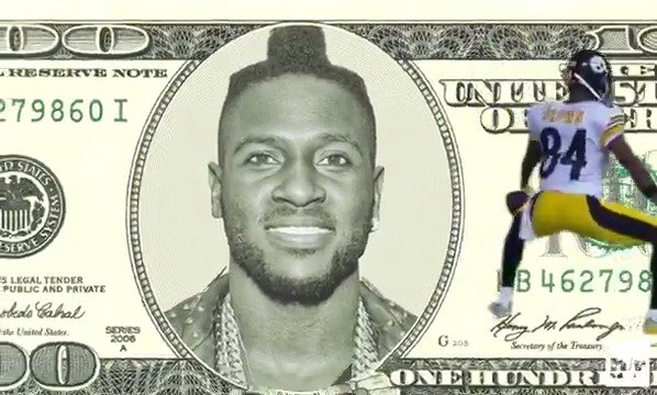 Antonio Brown becomes the highest paid WR in the league after 4-year, $68M extension with Steelers!