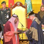 UM confers honorary doctorate on Saudi's King Salman