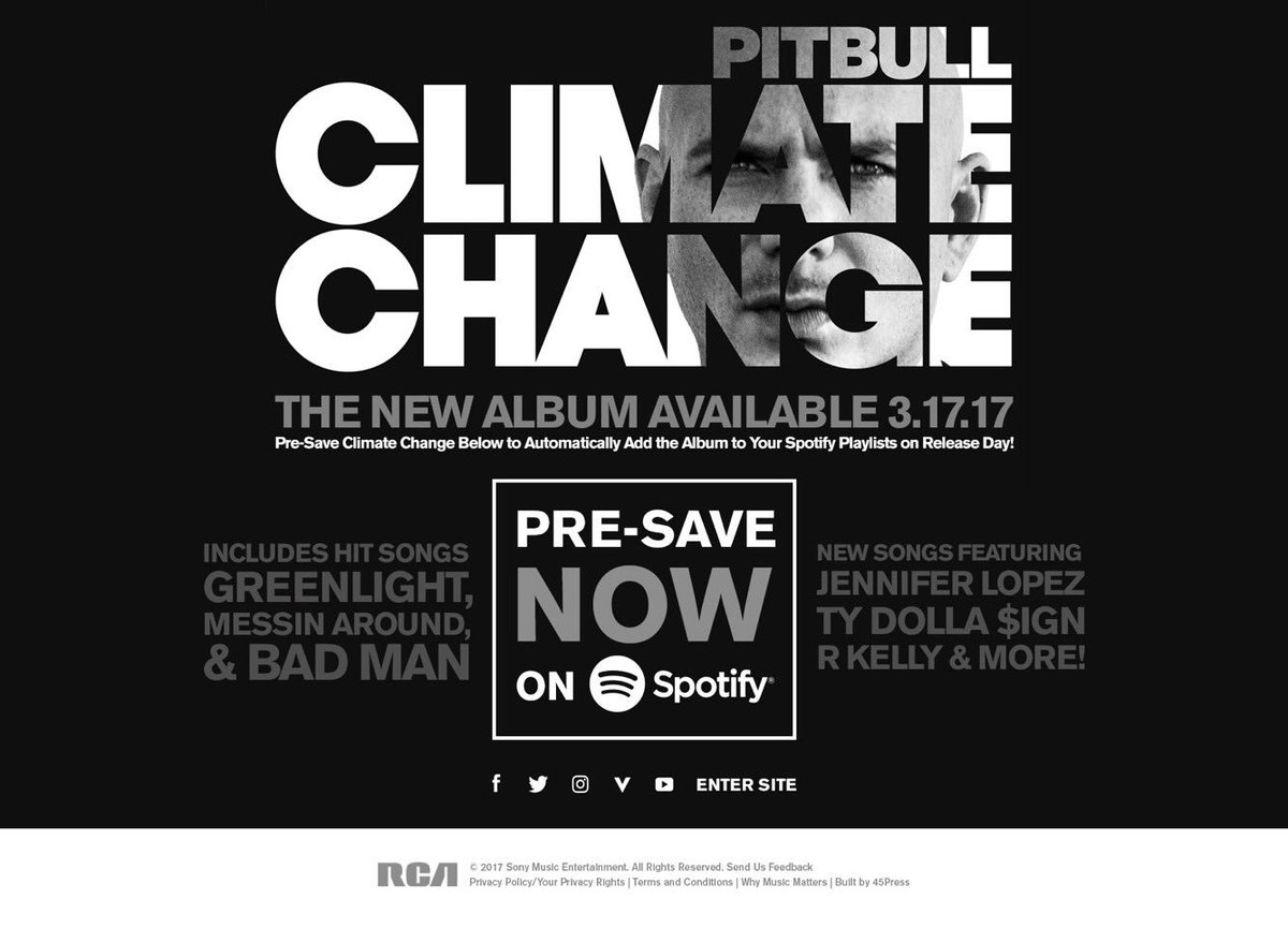 Pre-Save Climate Change now on @Spotify and get ready to dance on 3/17 #ClimateChange https://t.co/wzgVLObwTe https://t.co/nR1EJtgYRq