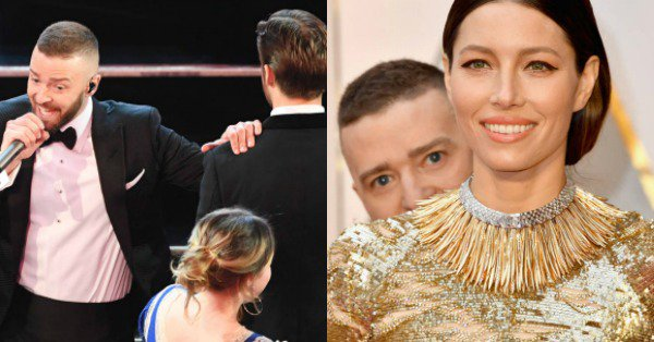 Justin Timberlake can't stop the viral moments from happening, even at the Oscars.