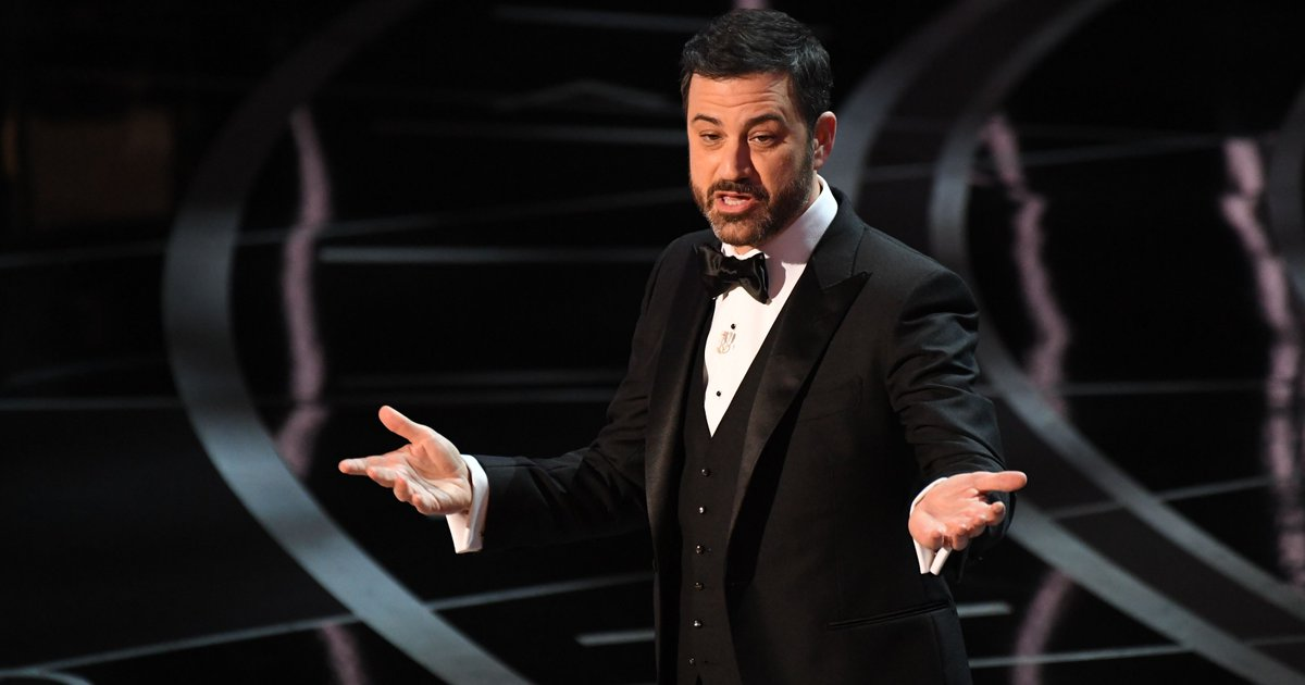 Jimmy Kimmel explains that crazy Oscars finish (and how the set collapsed)