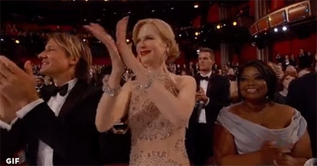 Why Nicole Kidman's Oscars clapping is probably the best thing you'll see today...
