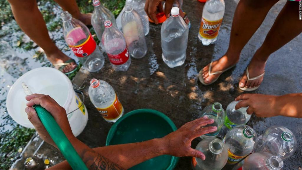 Recent rainfall has left millions in Santiago, Chile, without access to running water