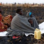 Hiding in swamps, S.Sudanese eat little more than lilies