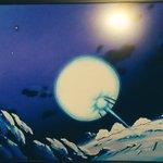 テレビつけたら先鋭的なアートが一面に、と思ったらドラゴンボールだった。
