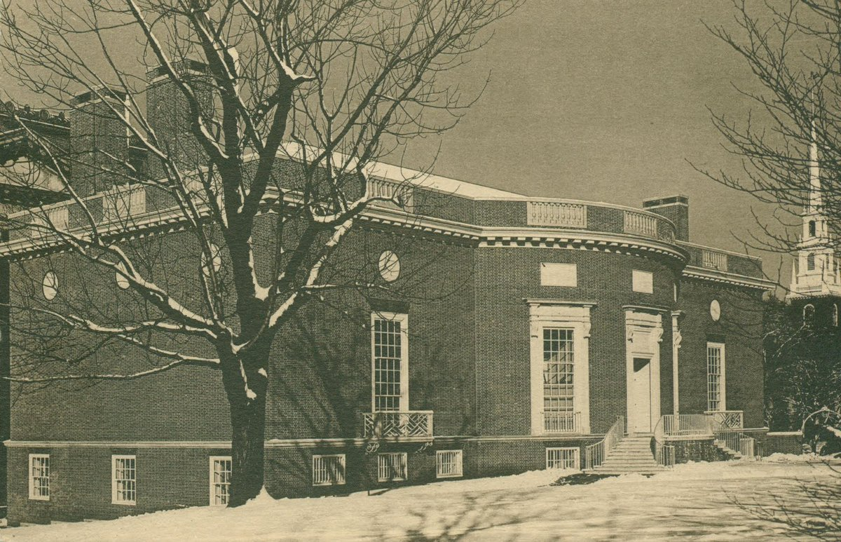 RT @HoughtonLib: Happy Birthday to us! Houghton Library opened its doors on February 28, 1942. #Houghton75 https://t.co/YR9vft6VAq https://…