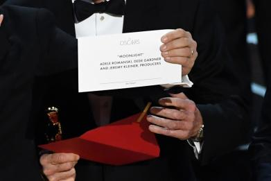 The best picture blunder at the Oscars was representative of our times