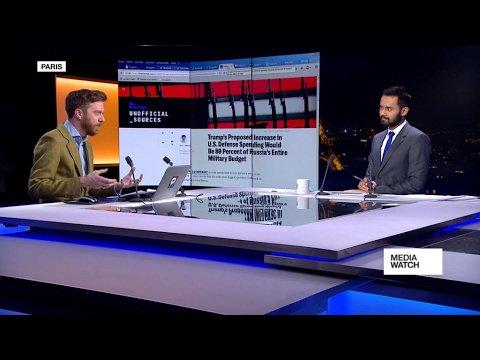 VIDEO -  Trump's bid to increase defence spending draws criticism