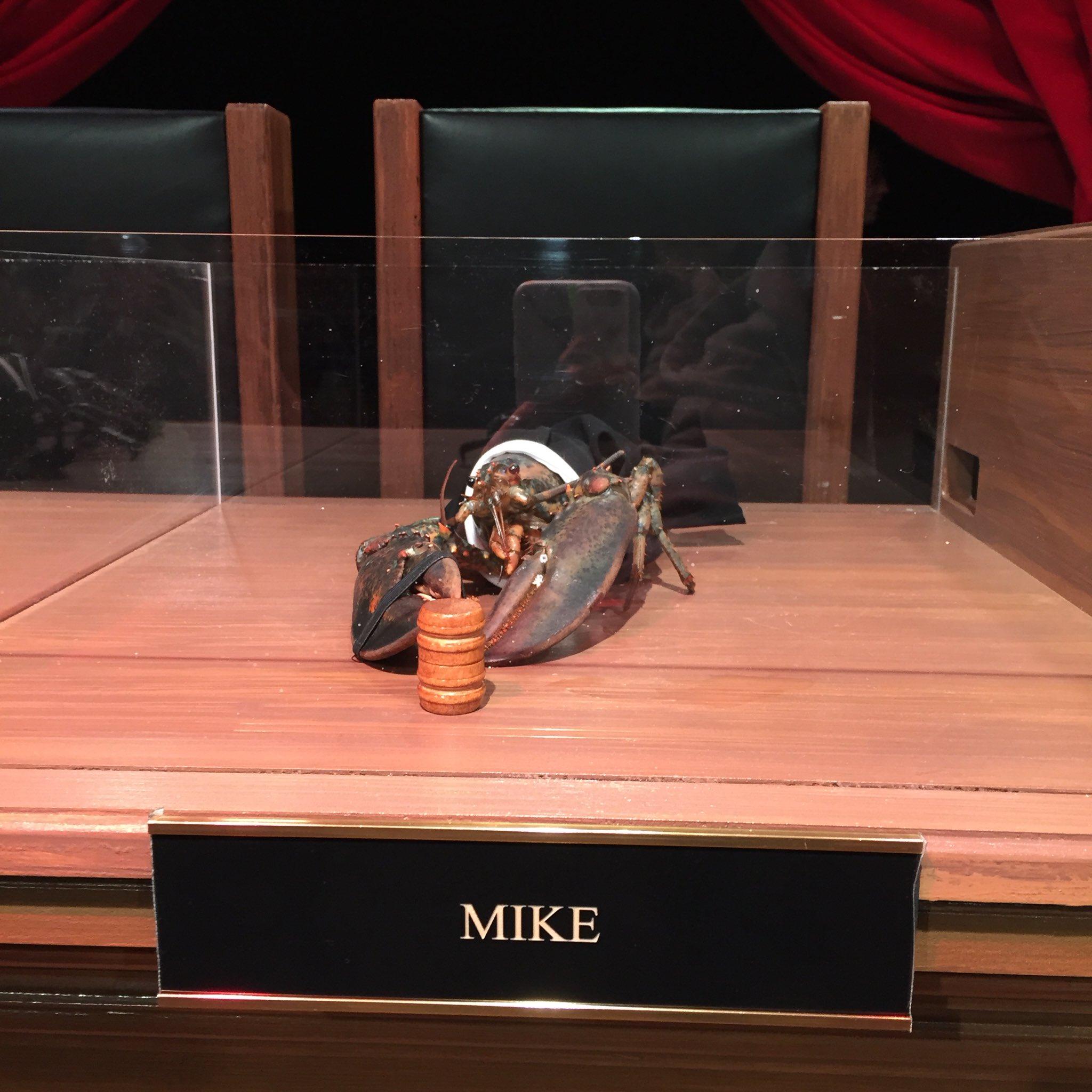Mike! #ClawAndOrder https://t.co/xN0zhcFmpE