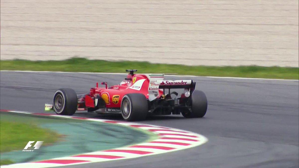 Ton up for Kimi 🙌1️⃣0️⃣0️⃣ laps2️⃣8️⃣ pit stopsFastest lap 120.960 💪🏻#F1Testing #F1