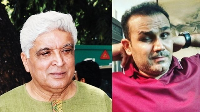 Twitter SLAMS Javed Akhtar for 'hardly literate' jibe at Virender Sehwag and Yogeshwar Dutt