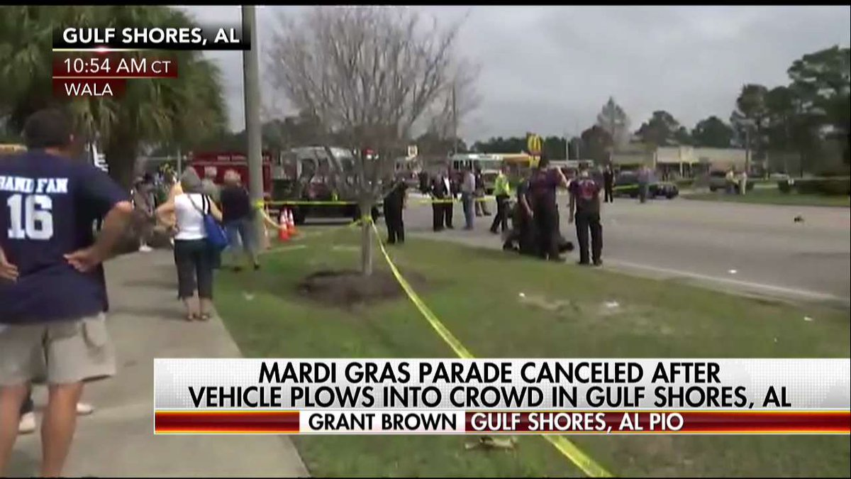 Gulf Shores, AL PIO Events are still unfolding. We're not exactly sure what happened.