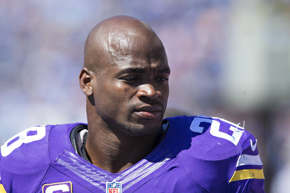 Breaking Vikings announce they will not exercise the 2017 option on Adrian Peterson's contract