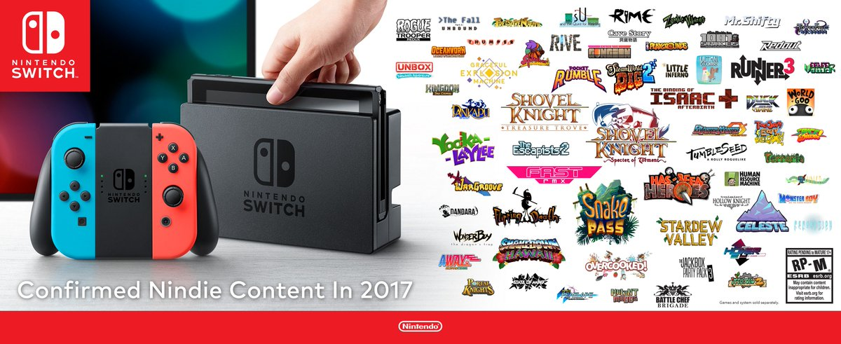 We hope you enjoyed this special look at some of the fantastic indie games coming this year to #NintendoSwitch!