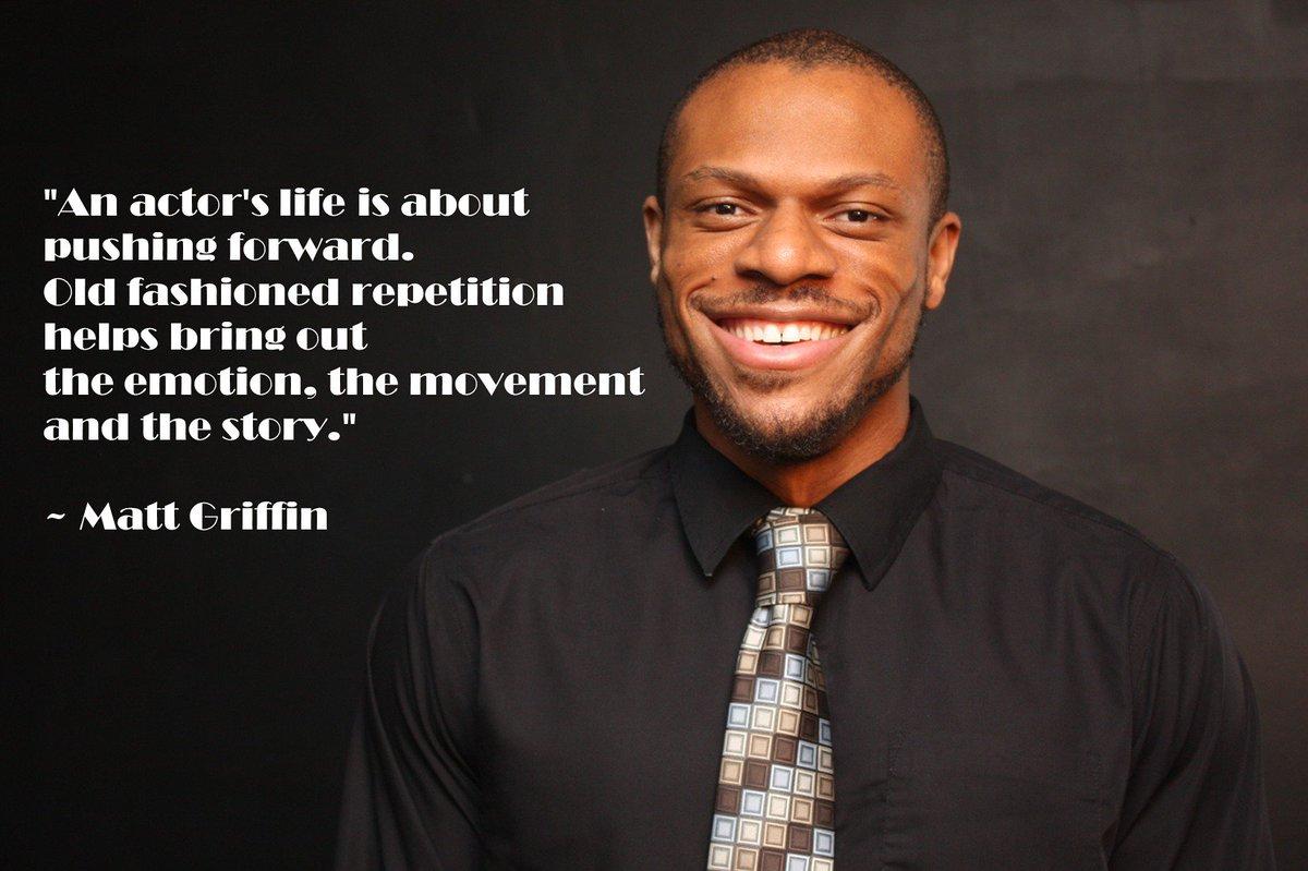 RT @mattgriffinreal: #actorslife #actor #inspiration #motivation #determination #drive #mattgriffin https://t.co/GDlGbs0djE