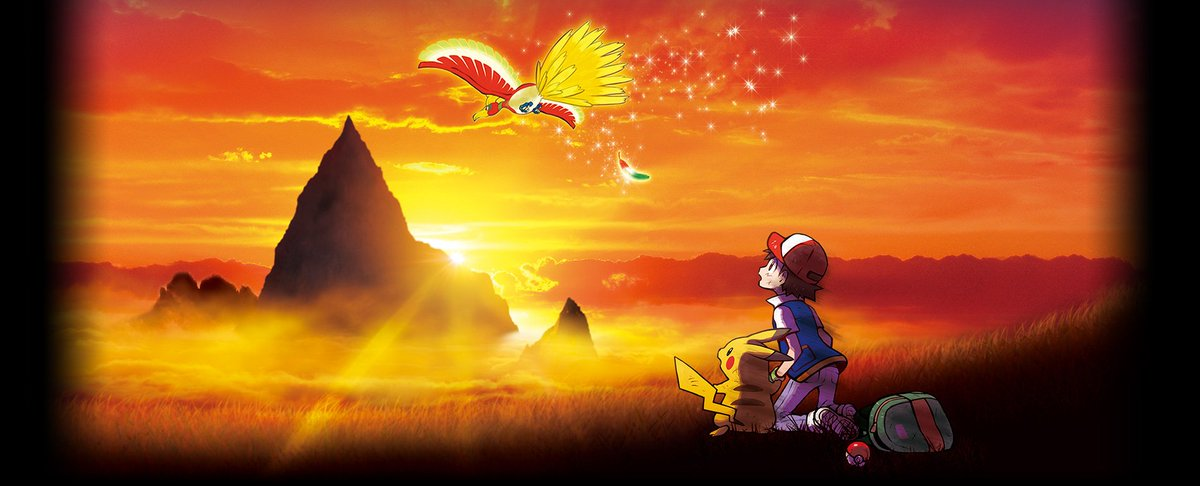 tweet-TV show 'Oha Suta' will show a new trailer and news for the 20th film on Thursday! The film seems to feature Ash's journey in Kanto + Ho-Oh. https://t.co/dPcAyZdx8s