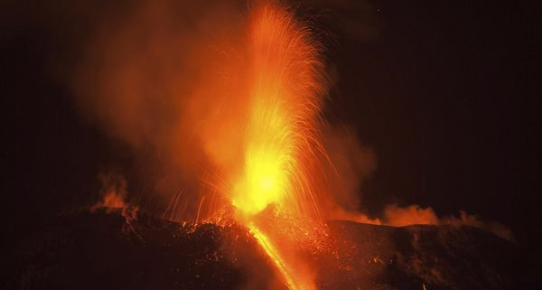 Etna volcano erupts in fiery show of lava in Sicily
