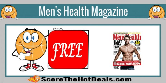 **FREE** Men's Health Magazine Subscription!free freebies freemagazines freebie