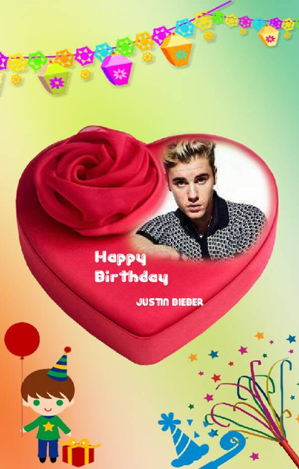 Happy birthday Justin Bieber .