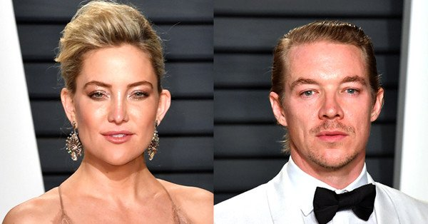 Kate Hudson and Diplo spark romance rumors during a 2017 Oscars after-party: