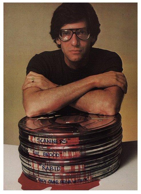 Happy Birthday to Body Horror master David Cronenberg.