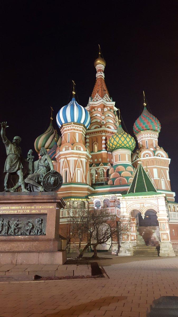 RT @karenwhite: Sightseeing in Russia. #RedSquare https://t.co/286ca8ZOsO