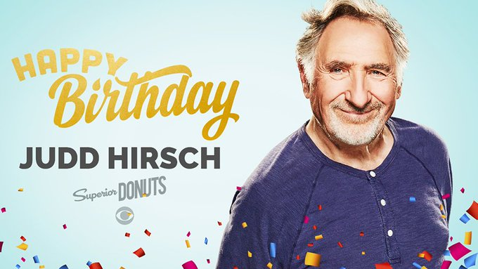 Happy Birthday to Judd Hirsch!