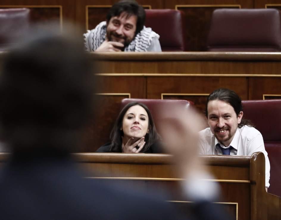 Pablo Iglesias a Rafael Hernando (PP): 'Límpiense la boca para hablar de derechos humanos' https://t.co/07Cw2uGvMH