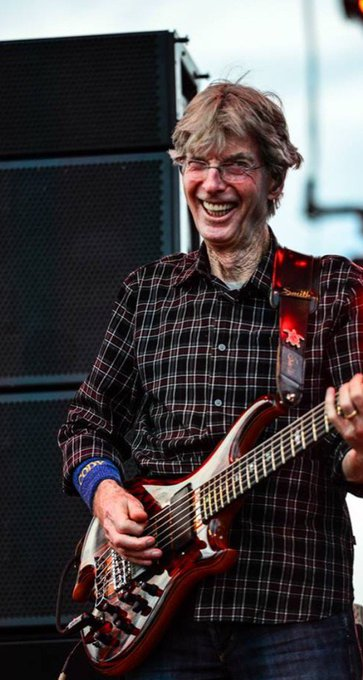 Happy birthday to Phil Lesh. A box of rain will ease the pain and love will see you through.