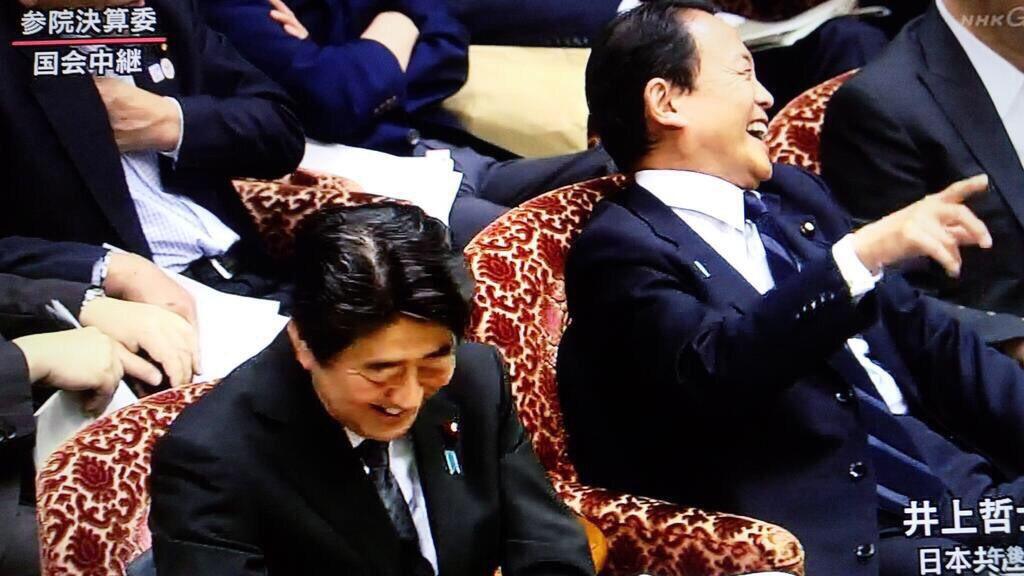 【国会】「あまりにも玉木氏が興奮するから(笑った)。」 安倍首相苦笑いで玉木氏激高 働き方で論戦中−衆院予算委 ★2 YouTube動画>7本 ->画像>61枚