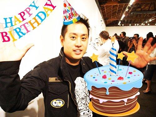 Happy Birthday to boom da bip-boom-wiggy wiggy-caww- freshhhhh-erwwww guy. Happy birthday to Mister Joe Hahn!!!