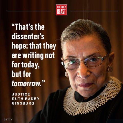 Happy birthday to Ruth Bader Ginsburg!