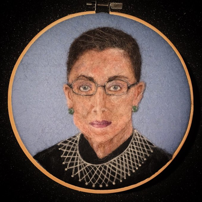Happy 84th birthday to Ruth Bader Ginsburg