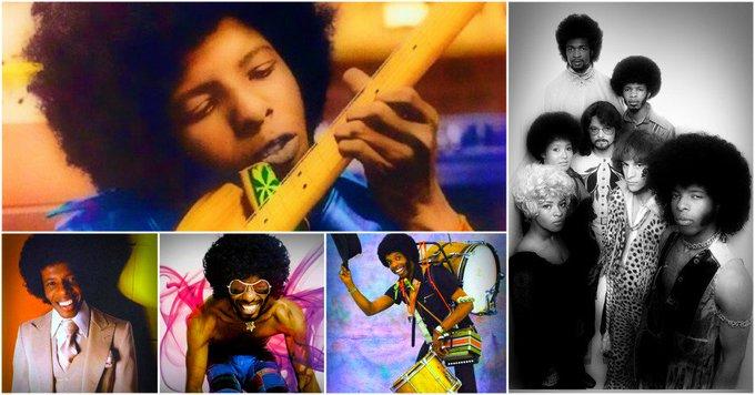 Happy Birthday to Sly Stone (born March 15, 1943)