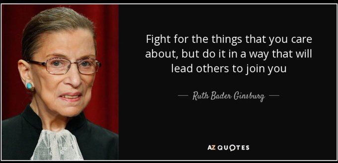 Happy Birthday Ruth Bader Ginsburg