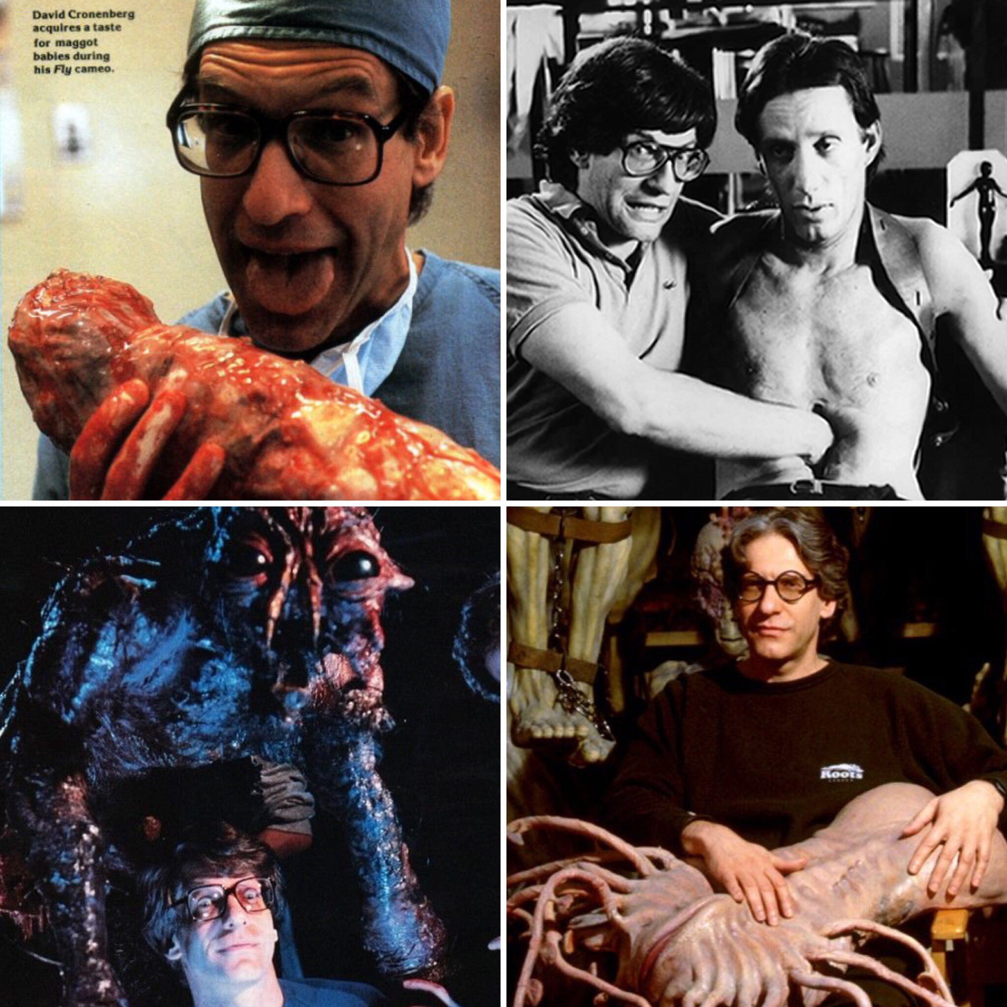 Happy 74th birthday to one of the most brilliant weirdos to ever walk this planet, the amazing David Cronenberg!
