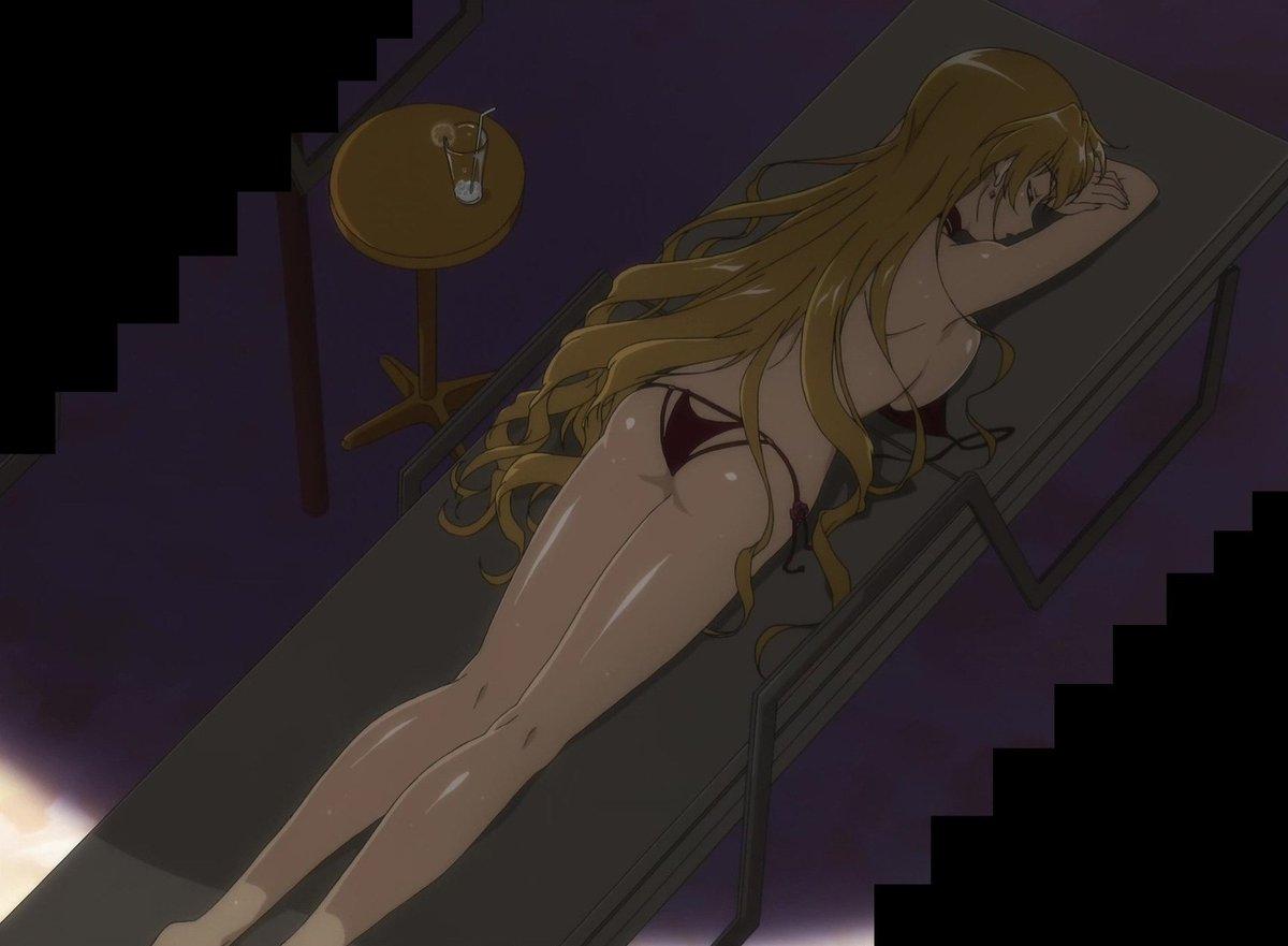 ハンドレッドは全アニメ史上というレベルで地上最高のドスケベエロボディ女のでてくるアニメだから(俺の中で