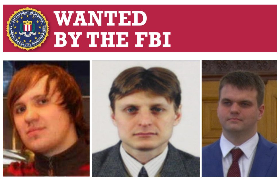 Help the #FBI find the #cyber criminals responsible for Yahoo! intrusion #WantedWednesday
