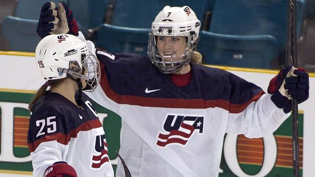 U.S. women's hockey team may boycott worlds over wage dispute From @Globe_Sports