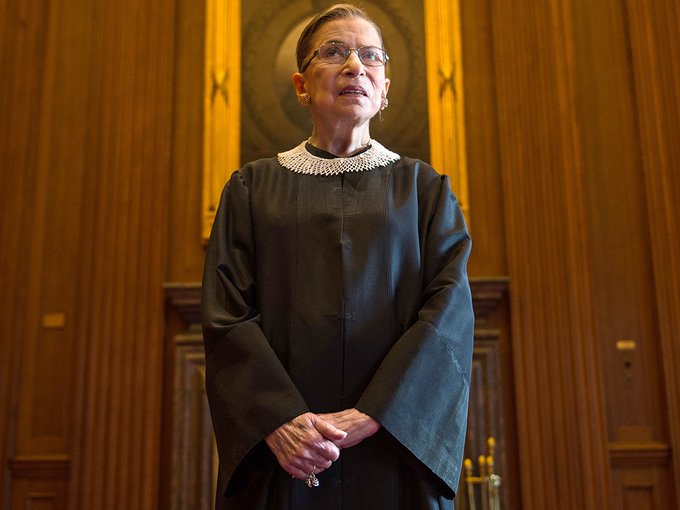 Happy Birthday to Ruth Bader Ginsburg, Associate Justice of the Supreme Court of the United States