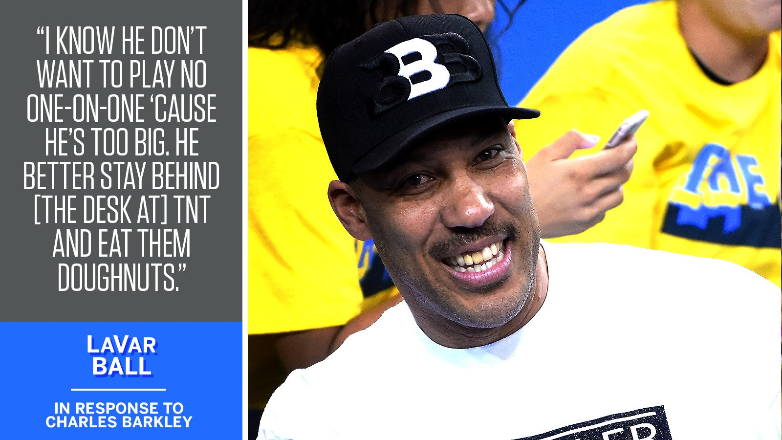 LaVar Ball told @SportsCenter he doesn't take Charles Barkley seriously.   https://t.co/9MKCZf7pKg https://t.co/ELuhx791Wx